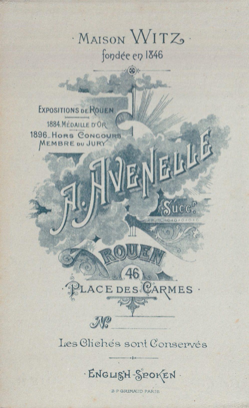 Album bfn Renée peut être Avenelle page  photo  verso rotated